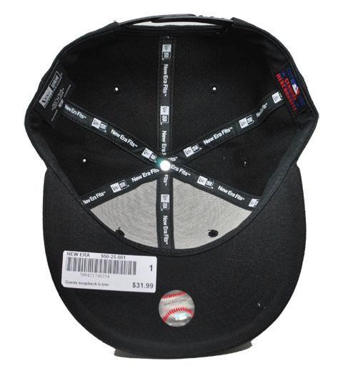 NEW ERA 9fifty MLB Baseball Snapback San Francisco Giants Black Cap