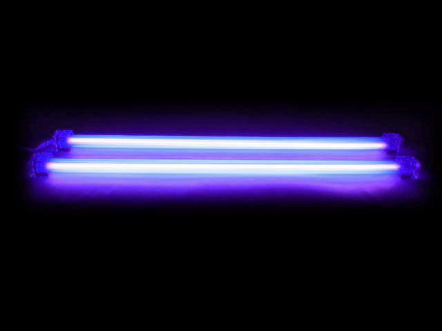 12 DUAL UV BLACK COLD CATHODE LIGHT KIT CCFL PC COMPUTER Logisys [2