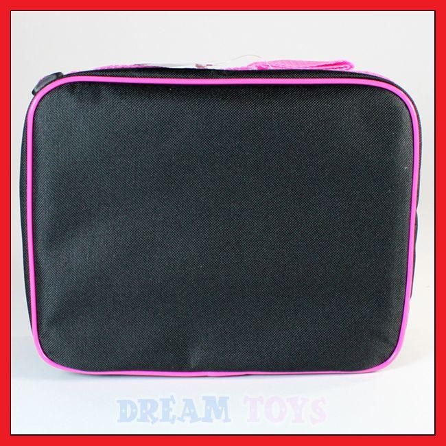Hello Kitty Black Glitter Lunch Bag   Box Case Kids School