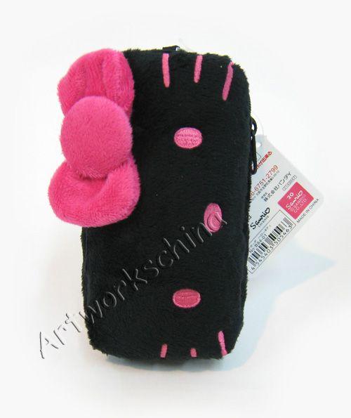 sii japan ban dai company hello kitty plush cell phone case size