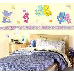 Care Bears Wall Border Wallpaper Room Decor Nursery